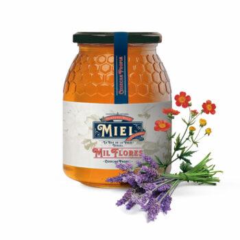 Miel De Milflores De Montaña 1/2 Kg